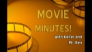 2013-06-17 ENGLISH MINUTES~ Movie Minutes and Poetry Time